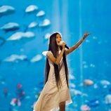Melani García ensaya por primera vez en Eurovisión Junior 2019