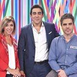 Eva Isanta, Pablo Chiapella y Ernesto Sevilla, en 'El bribón'