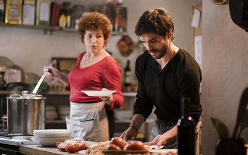 Benja y Olga, en la temporada 20 de 'Cuéntame cómo pasó'