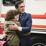 Miguel García y Sandra, en la temporada 20 de 'Cuéntame cómo pasó'