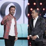 Hugo Castejón y Jorge Javier Vázquez hablan en la Gala 12 de 'GH VIP 7'