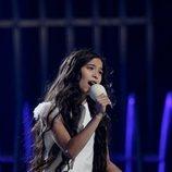 Melani ensaya por segunda vez para Eurovisión Junior 2019
