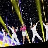 Carla, representante de Francia, en la Gran Final de Eurovisión Junior 2019