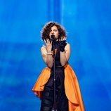 Mila Moskov, representante de Macedonia del Norte, en la Gran Final de Eurovisión Junior 2019