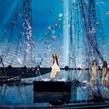 Melani, representante de España, en la Gran Final de Eurovisión Junior 2019