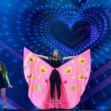 Erin Mai, representante de Gales, en la Gran Final de Eurovisión Junior 2019