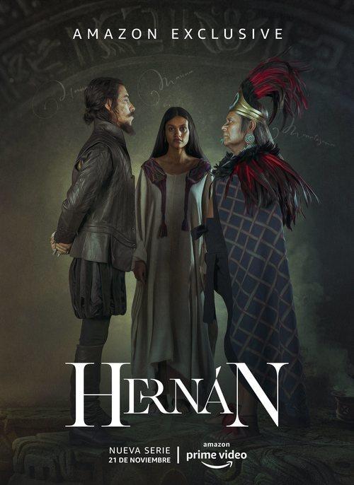 Cartel oficial de 'Hernán', la serie de Amazon Prime Video