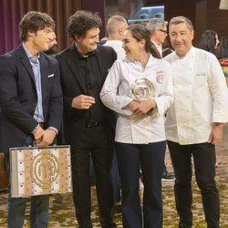 Tamara Falcó tras ganar 'MasterChef Celebrity 4'