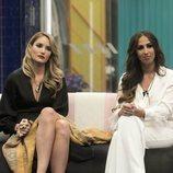 Alba Carrillo y Noemí Salazar en la casa de 'GH VIP 7' durante la Gala 13