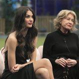 Estela Grande y Mila Ximénez durante la Gala 13 de 'GH VIP 7'