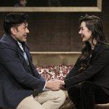 Adara recibe la visita de su padre en la Gala 13 de 'GH VIP 7'