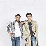 Pol (Carlos Cuevas) y Rai (Pablo Capuz) en 'Merlí: Sapere Aude'