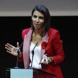 Ana Pastor da un discurso en la sexta entrega de premios Mujeres a Seguir