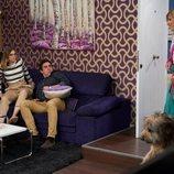 Débora, Amador y Maite comparten piso en el 11x11 de 'La que se avecina'