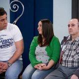 Amador, Clarita y Agustín, en el 11x11 de 'La que se avecina'
