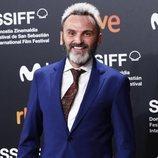 Fernando Tejero, sonriente en el Festival de San Sebastián 2019