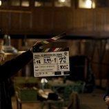 Claqueta en el rodaje de la cuarta temporada de 'El Ministerio del Tiempo'