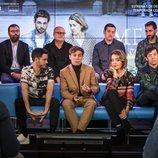 El equipo profesional de 'Merlí: Sapere Aude' en la rueda de prensa en Barcelona