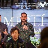 Menna Fité, director de 'Merlí: Sapere Aude', en la presentación en Barcelona