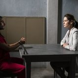 Michelle Monaghan y Mehdi Dehbi en 'Mesías'