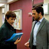 Blanca Portillo y Daniel Grao en 'Acusados'