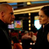 Dominic Purcell y Sarah Wayne Callies