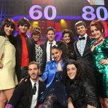 Lorena, Mimi, Anabel, Sandra, Nika, Víctor, Fran Dieli, Iván, Daniel Zueras y Pablo