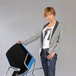 Sandra Barneda en una foto promocional de 'La séptima silla'