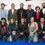 Todo el equipo de 'Merlí: Sapere Aude' en la premiere de Barcelona