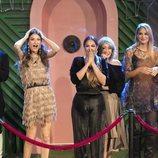 Las concursantes de 'GH VIP 7', maravilladas con la decoración de la Gala 14