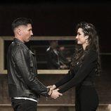 Gianmarco y Adara se reencuentran en la Gala 14 de 'GH VIP 7'