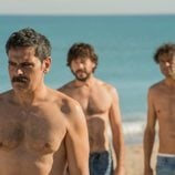 Conrado, Óscar y Vicent en la segunda temporada de 'El embarcadero'