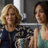 Alejandra junto a Blanca en la segunda temporada de 'El embarcadero'