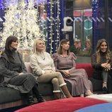Helena, Lucía, Alba y Raquel, en la Gala 15 de 'GH VIP 7'