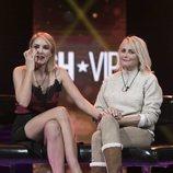 Alba Carrillo y su madre, Lucía Pariente, en la Gala 15 de 'GH VIP 7'