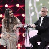 Noemí Salazar con Jordi González, en la Gala 15 de 'GH VIP 7'