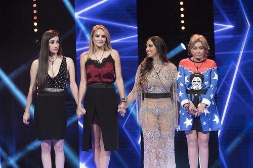 Las finalistas de 'GH VIP 7' esperando el veredicto de la Gala 15