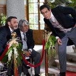 Fermín, Vicente y Amador de boda en el 11x12 de 'La que se avecina'