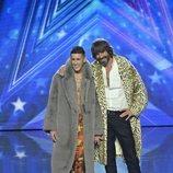 El Cejas y Santi Millán en la final de 'Got Talen España 5'