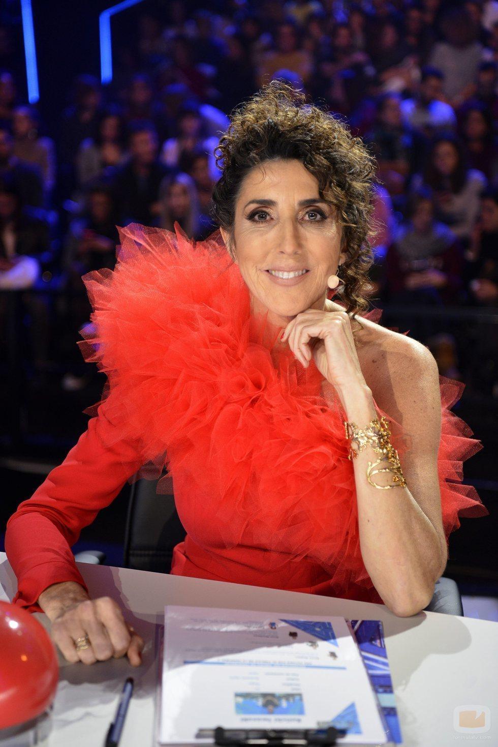 Paz Padilla en la final de 'Got Talent España 5'