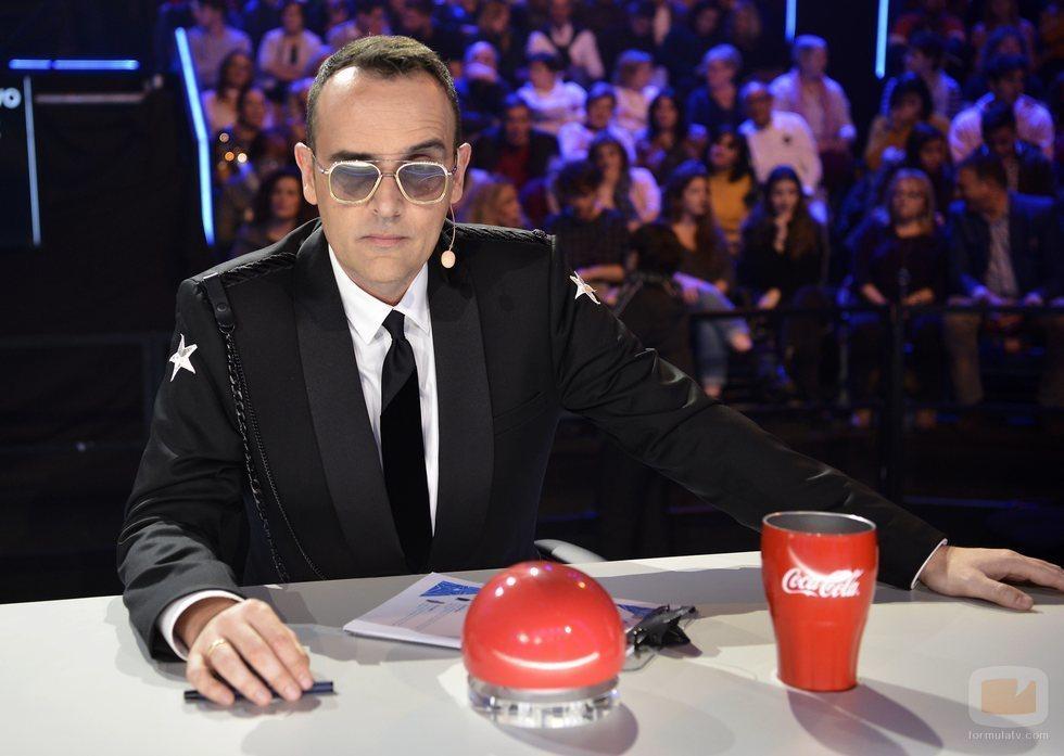 Risto Mejide en la final de 'Got Talent España 5'