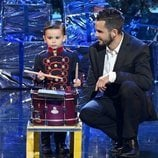 Hugo Molina y su padre en la final de 'Got Talent España 5'