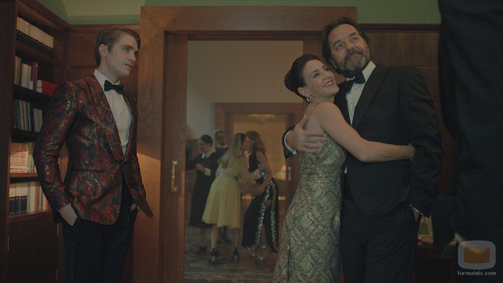 Nicolás Illoro, Eleonora Wexler y Abel Folk  en 'La valla'