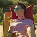 Claudia Riera es Triana Azcoitia en 'Vis a vis: El oasis' en Almería