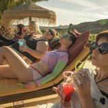 El elenco de 'Vis a vis: El oasis' rueda una secuencia en Almería