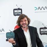 Salva Reina, ganador de la categoría  Mejor Actor de Drama de los Premios MiM 2019