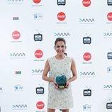 Toni Acosta, ganadora de la categoría Mejor Actriz de Comedia de los Premios MiM 2019