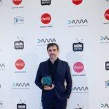 Jorge Dorado, ganador de la categoría Mejor Dirección de los Premios MiM 2019