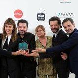 El equipo de 'El embarcadero', Premio Dama a Mejor Drama de los Premios MiM 2019
