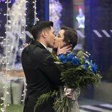 El beso de Gianmarco y Adara durante la Gala Final de 'GH VIP 7'